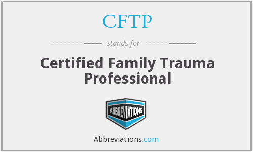 What does CFTP stand for?
