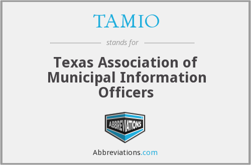 What does TAMIO stand for?