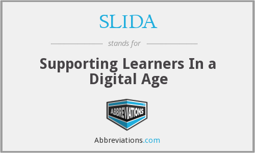 What does SLIDA stand for?