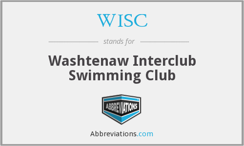 WISC - Washtenaw Interclub Swimming Club