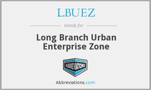 LBUEZ - Long Branch Urban Enterprise Zone