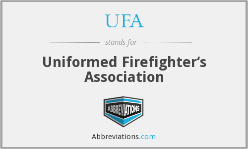 UFA - Uniformed Firefighter's Association