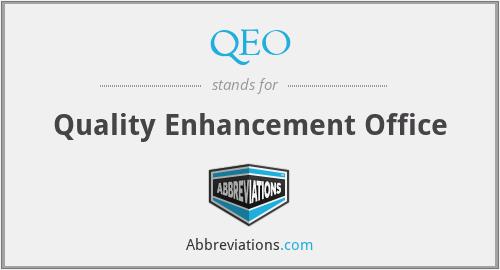 QEO - Quality Enhancement Office