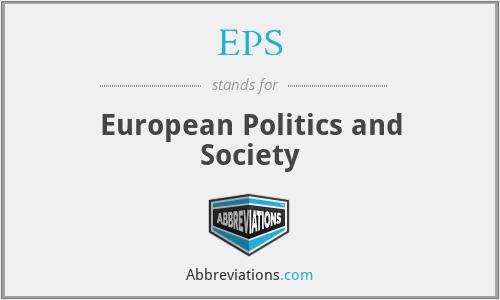 EPS - European Politics and Society