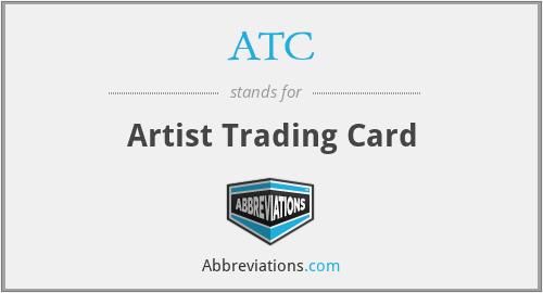 ATC - Artist Trading Card