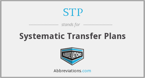 STP - Systematic Transfer Plans