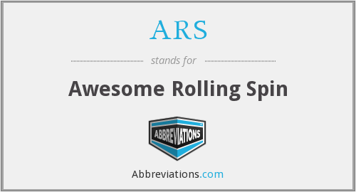 ARS - Awesome Rolling Spin