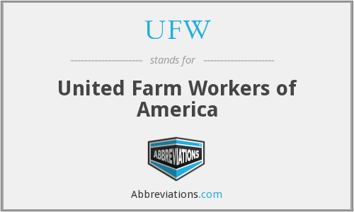 What does UFW stand for?