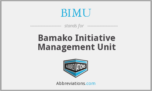 What does BIMU stand for?