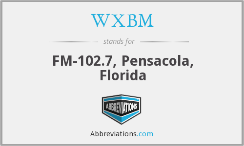 What does WXBM stand for?