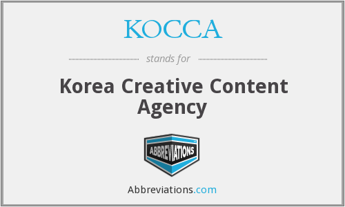 What does KOCCA stand for?