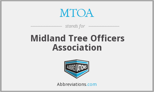 MTOA - Midland Tree Officers Association