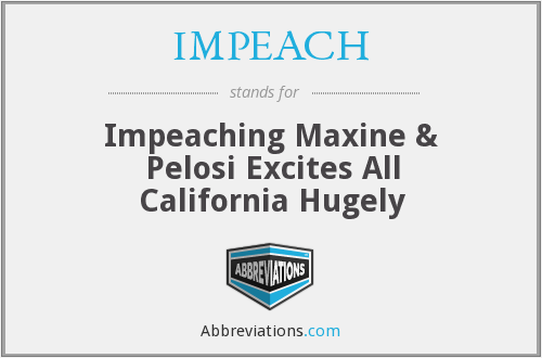 What does IMPEACH stand for?