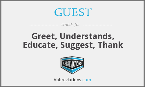 What does GUEST stand for?