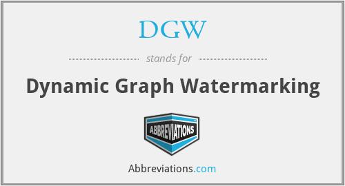 DGW - Dynamic Graph Watermarking
