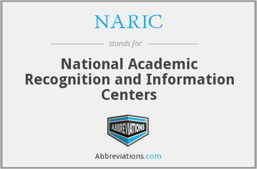 NARIC - National Academic Recognition and Information Centers