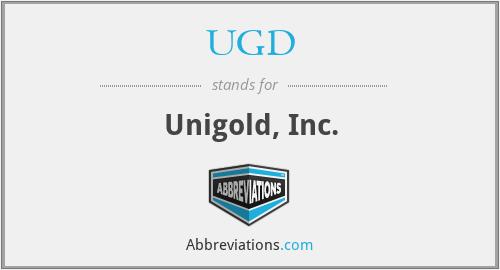 UGD - Unigold, Inc.
