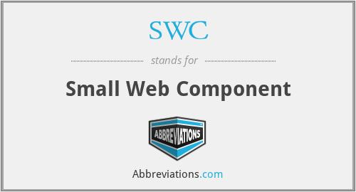 SWC - Small Web Component