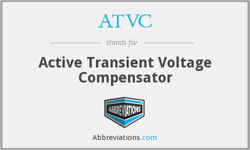 What does ATVC stand for?