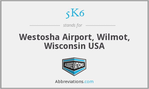 5K6 - Westosha Airport, Wilmot, Wisconsin USA