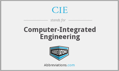 CIE - Computer-Integrated Engineering