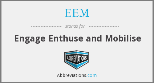 What does enthuse stand for?