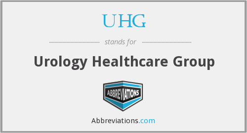 UHG - Urology Healthcare Group
