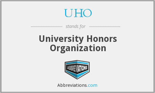 UHO - University Honors Organization