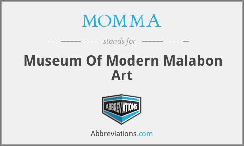 MOMMA - Museum Of Modern Malabon Art