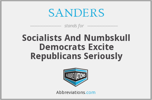 What does SANDERS stand for?