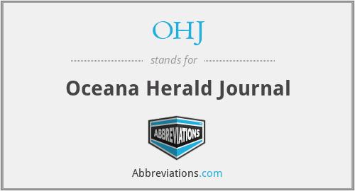 OHJ - Oceana Herald Journal