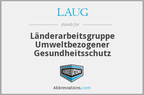 What does LAUG stand for?