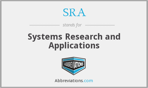 SRA - Systems Research and Applications