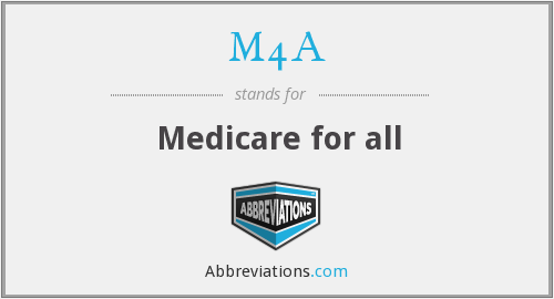 What does M4A stand for?