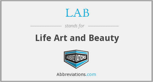 LAB - Life Art and Beauty