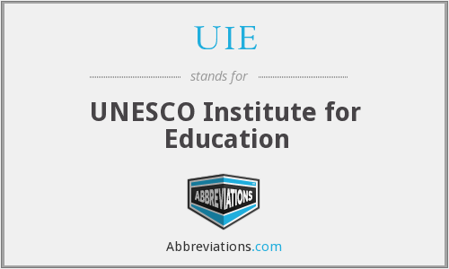 UIE - UNESCO Institute for Education