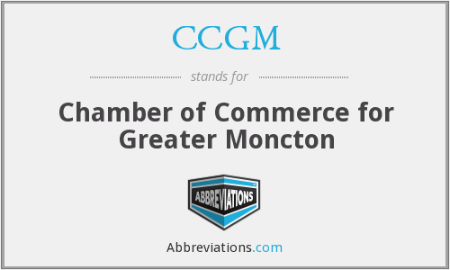 CCGM - Chamber of Commerce for Greater Moncton