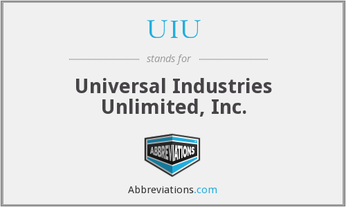 UIU - Universal Industries Unlimited, Inc.