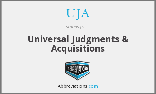 UJA - Universal Judgments & Acquisitions