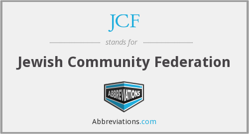 JCF - Jewish Community Federation