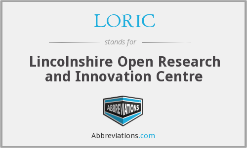 LORIC - Lincolnshire Open Research and Innovation Centre