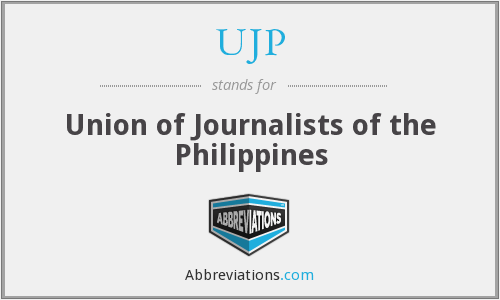 UJP - Union of Journalists of the Philippines