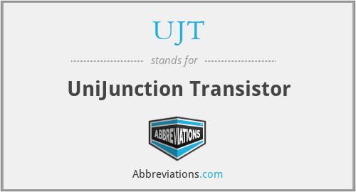 UJT - UniJunction Transistor