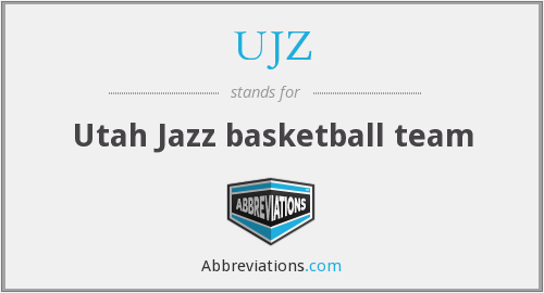 What does UJZ stand for?