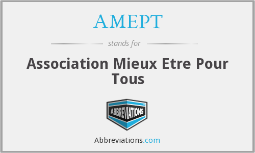 What does AMEPT stand for?
