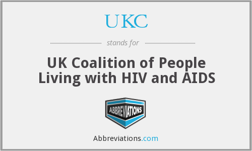 UKC - UK Coalition of People Living with HIV and AIDS