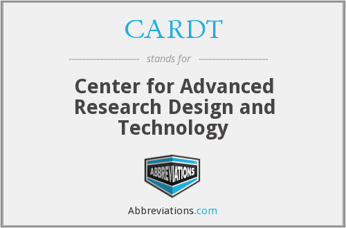 What does CARDT stand for?
