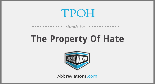 What does TPOH stand for?