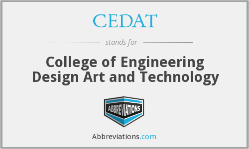 What does CEDAT stand for?