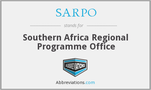 What does SARPO stand for?